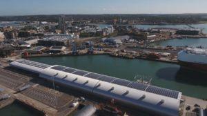 ABP Port of Southampton Solar Installation by Custom Solar