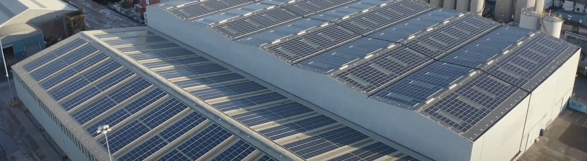 UK's Largest Rooftop Solar Installation | ABP HULL